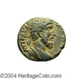 Ancients:Roman, Ancients: Syria, Decapolis. Gadara. Lucius Verus. 161-169 C.E. AE24 mm (13.97 g). Year 225 (161/2 C.E.). Laureate and draped bustrig...