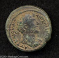 Ancients:Roman, Ancients: Syria, Decapolis. Hippos-Susita. Marcus Aurelius. 161-180C.E. AE 25 mm (11.23 g). Laureate and draped bust right / Tychest...