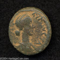 Ancients:Roman, Ancients: Syria, Decapolis. Pella. Lucilla, wife of Lucius Verus.AE 23 mm (10.23 g). Year 240 (176/7 C.E.). Draped bust right, hairc...