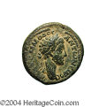 Ancients:Roman, Ancients: Syria, Decapolis. Pella. Commodus. 177-192 C.E. AE 24 mm(11.14 g). Year 246 (182/3 C.E.). Laureate head right / Tycheseate...