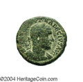 Ancients:Roman, Ancients: Samaria, Caesarea Maritima. Trajan Decius. 249-251 C.E.AE 27 mm (23.78 g). Laureate, draped and cuirassed bust right /Stan...