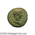 Ancients:Roman, Ancients: Judaea, Aelia Capitolina (Jerusalem). Hadrian. 117-138C.E. AE 23 mm (10.34 g). Laureate, draped and cuirassed bust right/ ...