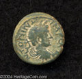 Ancients:Roman, Ancients: Judaea, Aelia Capitolina (Jerusalem). Antoninus Pius.138-161 C.E. AE 17 mm (3.41 g). Laureate, draped and cuirassed bustri...