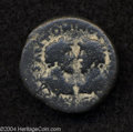 Ancients:Roman, Ancients: Judaea, Aelia Capitolina (Jerusalem). Marcus Aurelius andLucius Verus. 161-180 C.E. AE 25 mm (12.46 g). Laureate anddraped...