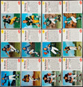 Football Cards:Sets, 1962 Post Cereal Football Partial Set (106/200) With 34 Extras....
