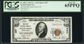 National Bank Notes:Pennsylvania, Selins Grove, PA - $10 1929 Ty. 1 The First National Bank Ch. # 357 PCGS Gem New 65PPQ.. ...