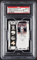 Baseball Cards:Singles (1970-Now), 2006 Topps Sterling Mickey Mantle Sterling Moments Relics #MM-AS13 PSA Gem Mint 10 - Serial Numbered 2/10....