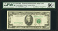 Error Notes:Inking Errors, Missing Black Portion of Third Printing Error Fr. 2075-B $20 1985 Federal Reserve Note. PMG Gem Uncirculated 66 EPQ.. ...