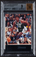 """Basketball Cards:Singles (1980-Now), 2010-11 Ultimate Collection """"1997 Legends"""" Magic Johnson Autograph Card #AL-3 BGS Mint 9, Auto 10...."""
