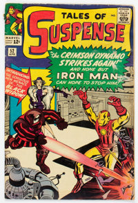 Tales of Suspense #52 (Marvel, 1964) Condition: Qualified GD