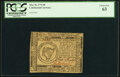 Continental Currency May 10, 1775 $8 PCGS Choice New 63