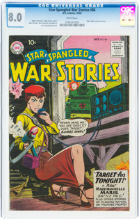 Star Spangled War Stories #86 (DC, 1959) CGC VF 8.0 White pages