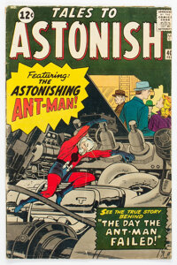 Tales to Astonish #40 (Marvel, 1963) Condition: VG
