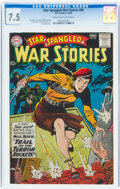 Silver Age (1956-1969):War, Star Spangled War Stories #89 (DC, 1960) CGC VF- 7.5 Cream to off-white pages....