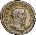 Ancients:Roman Imperial, Ancients: Pupienus (April-June AD 238). AR antoninianus (22mm, 12h). NGC Choice VF. ...