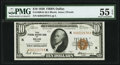 Small Size:Federal Reserve Bank Notes, Fr. 1860-K $10 1929 Federal Reserve Bank Note. PMG About Uncirculated 55 EPQ.. ...