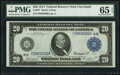 Large Size:Federal Reserve Notes, Fr. 977 $20 1914 Federal Reserve Note PMG Gem Uncirculated 65 EPQ.. ...