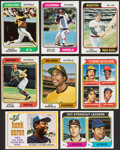 Baseball Cards:Sets, 1974 Topps Baseball Complete Set (660) With Traded Set (44) & Red Team Checklist Set (24). ...