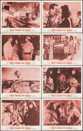 "Hot Rods to Hell & Other Lot (MGM, 1967). Overall: Fine/Very Fine. Lobby Card Set of 8 (11"" X 14"") & O..."