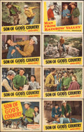 """Movie Posters:Western, Son of God's Country & Other Lot (Republic, 1948). Overall: Fine/Very Fine. Lobby Cards (24) & Title Lobby Card (11"""" X 14"""").... (Total: 25 Items)"""