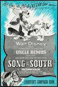 "Movie Posters:Animation, Song of the South (Buena Vista, R-1956). Very Fine. Uncut Pressbook (20 Pages, 12"" X 18""). Animation.. ..."