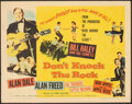 """Movie Posters:Rock and Roll, Don't Knock the Rock (Columbia, 1957). Folded, Fine+. Half Sheet (22"""" X 28"""") Style A. Rock and Roll.. ..."""