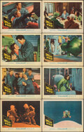 "Movie Posters:Science Fiction, Satellite in the Sky (Warner Bros., 1956). Fine/Very Fine. Lobby Card Set of 8 (11"" X 14""). Science Fiction.. ... (Total: 8 Items)"