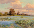 Paintings, Robert William Wood (American, 1889-1979). Sundown. Oil on canvas. 25 x 30 inches (63.5 x 76.2 cm). Signed lower left: ...
