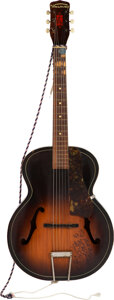 Musical Instruments:Acoustic Guitars, The Nokie Edwards/The Ventures Autographed Harmony Archtop Guitar...