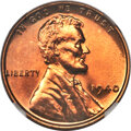 Proof Lincoln Cents, 1940 1C PR67+ Red NGC....