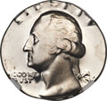 197?-S 25C Washington Quarter -- Struck on a Dime Planchet -- PR68★ NGC