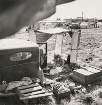 Dorothea Lange (American, 1895-1965) A Group of Five Photographs of Migrant Life (5 works), 1936-1939