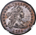 Early Dollars, 1795 $1 Draped Bust, Off-Center, B-14, BB-51, R.2, MS64 NGC....