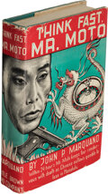 Books:Mystery & Detective Fiction, John P. Marquand. Think Fast, Mr. Moto. Boston: 1937. First edition....