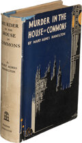 Books:Mystery & Detective Fiction, Mary Agnes Hamilton. Murder in the House of Commons. London: [1931]. First edition....