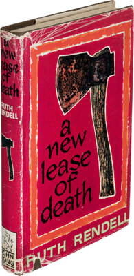 Ruth Rendell. A New Lease of Death. London: [1967]. First edition. Signed