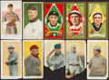Baseball Cards:Lots, 1909-11 E91 American Caramel, E97 Briggs, T206 Tolstoi, T205 Hassan Collection (10). ... (Total: 2 items)