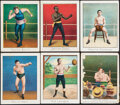 """Boxing Cards:General, 1910 T220 Mecca """"Boxing Champions"""" (19). ..."""