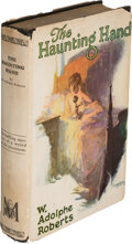 Books:Mystery & Detective Fiction, W. Adolphe Roberts. The Haunting Hand. New York: [1926]. First edition. Generally acknowledged to be the first mys...