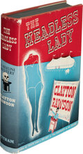 Books:Mystery & Detective Fiction, Clayton Rawson. The Headless Lady. New York: [1940]. First edition. Inscribed by the author....