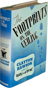 Clayton Rawson. The Footprints on the Ceiling. New York: [1939]. First edition