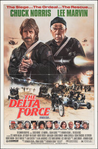 """The Delta Force & Other Lot (Cannon, 1986). Folded, Fine/Very Fine. One Sheets (2) (27"""" X 41"""") SS, Stan Wa..."""