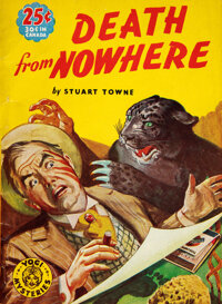 Stuart Towne [pseudonym of Clayton Rawson]. Death from Nowhere. New York: [1940]. First edition