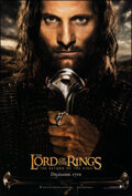 """Movie Posters:Fantasy, The Lord of the Rings: The Return of the King (New Line, 2003). Rolled, Very Fine+. One Sheet (27"""" X 40"""") DS Advance, Aragor..."""