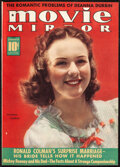 """Movie Posters:Miscellaneous, Movie Mirror Magazine (McFadden Publications, 1939). Fine/Very Fine. Bound Magazine Volumes (Multiple Pages, 8.75"""" X 11.5"""")...."""