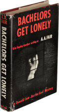 Books:Mystery & Detective Fiction, [Erle Stanley Gardner]. A. A. Fair, pseudonym. Bachelors Get Lonely. New York: 1961. First edition. Inscribedby th...