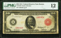 Fr. 1012b $50 1914 Red Seal Federal Reserve Note PMG Fine 12