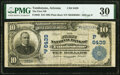 National Bank Notes:Arizona, Tombstone, AZ - $10 1902 Plain Back Fr. 628 The First National Bank Ch. # (P)6439 PMG Very Fine 30.. ...
