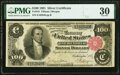 Large Size:Silver Certificates, Fr. 344 $100 1891 Silver Certificate PMG Very Fine 30.. ...