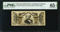 Fractional Currency:Third Issue, Fr. 1330 50¢ Third Issue Spinner PMG Gem Uncirculated 65 EPQ.. ...